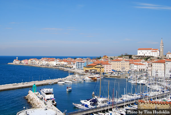 Travel to Piran Slovenia